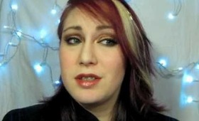 Dramatic Red and Gold Eye Makeup Tutorial - Featuring Moi Minerals Cosmetics - The Eyes Have It