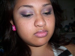 Christmas Inspired look using I-Candy Couture Pigments www.i-candycouture.com