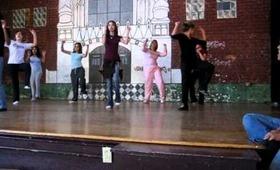 """Reagan High School 2006- Dance class """"Bust a move"""""""