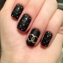 Chanel Quilted Nails