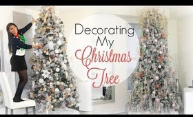 DECORATING MY CHRISTMAS TREE | ME VS. THE PROFESSIONALS
