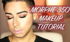 Morphe 35O Eyeshadow Tutorial   All Matte Eyeshadow Look