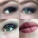 Simple Christmas \ New Year makeup