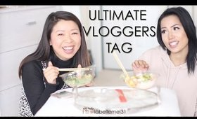 The Ultimate Vlogger Tag with SAAMMAGE | POKE BOWL MUKBANG MUKBANG 먹방 Eating Show | MsLaBelleMel