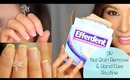 GIVEAWAY+DIY Rid of Yellow Nails & Dry Hands (L'Occitane & London Butter)