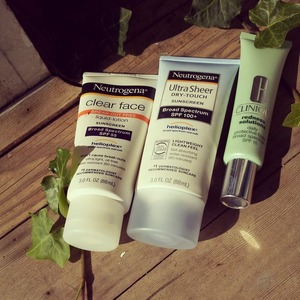 3 of my daily used products for safe sun!