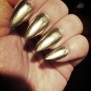 Orly Luxe on Stiletto Nails
