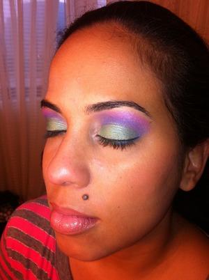 my friend Denise...she's my makeup ginniepig ;)