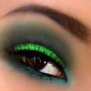 Acid Green Cut Crease