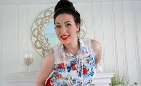 Pin-up Orange, Get Ready With Me!