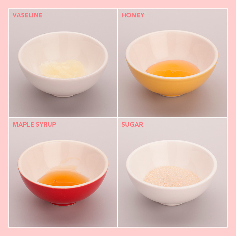 DIY Lip Scrub: Ingredients