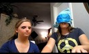 Blindfolded Makeup Challenge with Kaylee (glitterglitter13)