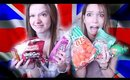 FRENCH TRY BRITISH CANDY!!!