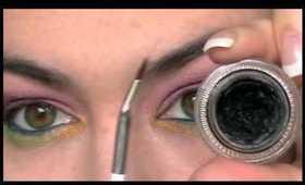 Exotic Look using Medusa's makeup eyeshadows