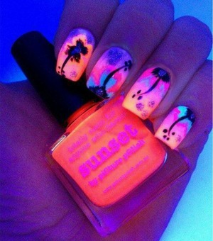 Most gorgeous nails I have ever seen in my life! (Not my own work) color is Sunset to buy it go to www.picturepolish.com.au
