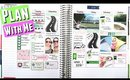 PWM: SCRAPBOOKING Plan With Me | Erin Condren Life Planner Vertical Layout Weekly Spread #61