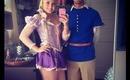 RAPUNZEL TUTORIAL - Tangled Couples' Costumes, Hair, Makeup