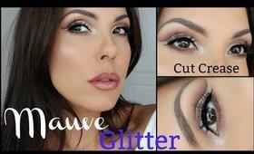 Mauve Glitter Eyes, Full Face Tutorial | Stila | Anastasia Beverly Hills