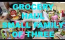GROCERY HAUL AND MEAL PLAN | FAMILY OF THREE