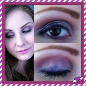 used Coastal Scents Winterberry palette