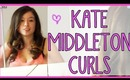 Kate Middleton Curls - Chelsea Blow Dry