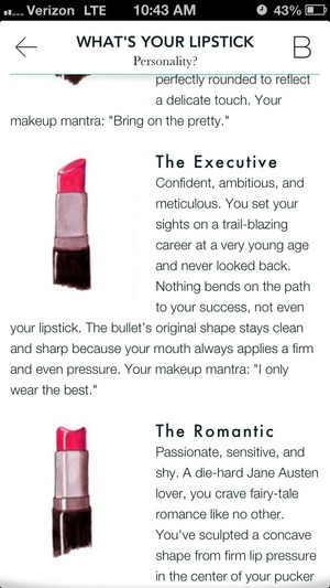 My lipstick personality! :)