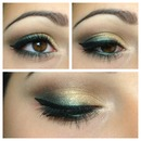 gold & green