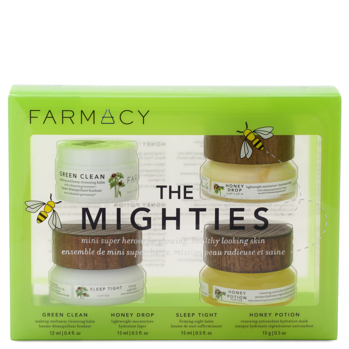 Farmacy The Mighties Set product smear.