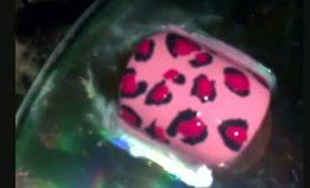 Fruit Punch Cheetah Print Nail Tutorial