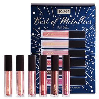 Jouer Cosmetics Best of Metallics Part Deux Deluxe Lip Crème Set