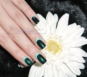 http://polishedindulgence.blogspot.com/2012/03/nail-art-wednesday-green-slim-silhoutte.html