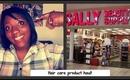 Haircare Product Haul/My Natural Hair Story