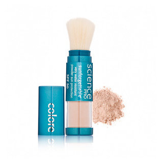 Colorescience Sunforgettable Mineral Powder Brush SPF 50-Medium