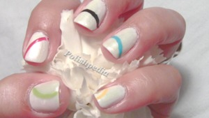 The olympics are such a fun occasion so I decided to make my own olympic nail art.  I really like how they turned out.  Simple, cute, and very representative of the olympic rings.  Watch Video Tutorial @ http://www.polishpedia.com/olympic-nails.html