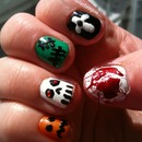 NAV | Halloween Nail Art Tutorial