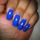 Nail of the Day - Moody Blue