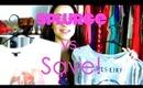 Fashion Friday: Splurge vs. SAVE!