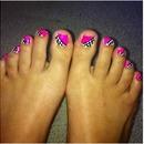 Checker toe design