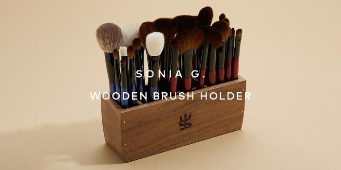 The Sonia G. Wooden Brush Holder just restocked. Shop now!