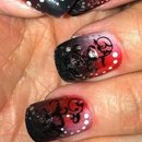 Wicked Woman *Nailnation3000 Logo Nails*