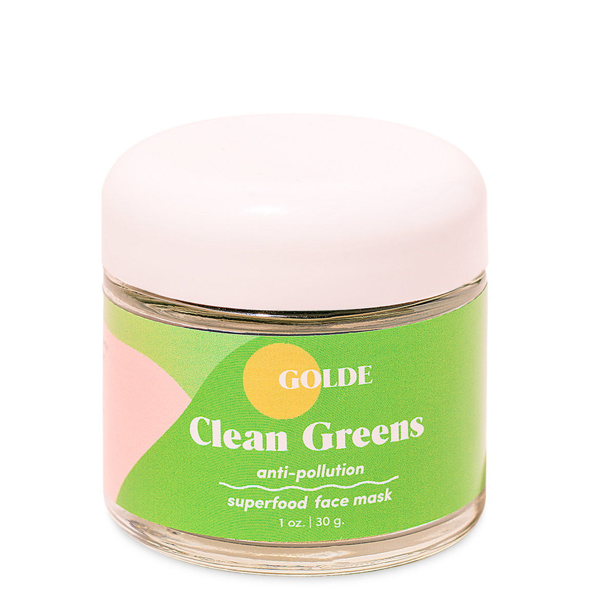 Golde Clean Greens Face Mask alternative view 1 - product swatch.