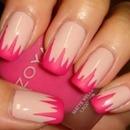 pink matte spikes