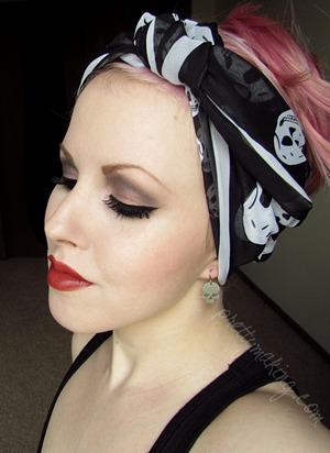 A wearable look I did inspired by the Zodiac sign Capricorn. I was inspired by classic Capricorn actresses like Marlene Dietrich, Billie Dove, Pola Negri, etc.  http://prettymaking.blogspot.com/2012/07/zodiac-collaboration-capricorn.html