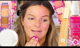 WOW.. NEW PACIFICA MAKEUP! DRUGSTORE FIRST IMPRESSIONS | Casey Holmes