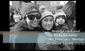 RickyRichardstv & Beautycrush's SF meetup.  Pictures and short videos!