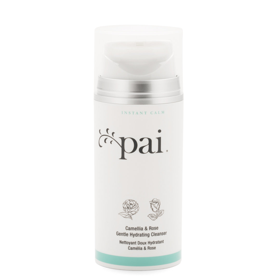 Pai Skincare Camellia & Rose Gentle Hydrating Cleanser 100 ml product smear.