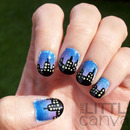 City Skyline Nail Art