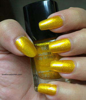 More swatches and review  http://lovefornailpolish.com/covergirl-nail-polish-sulfur-blaze