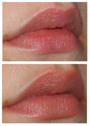 Bottom: Wet N Wild Mega Last Lip Color lipstick in 902C Bare It All