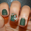 Textured Christmas Nails